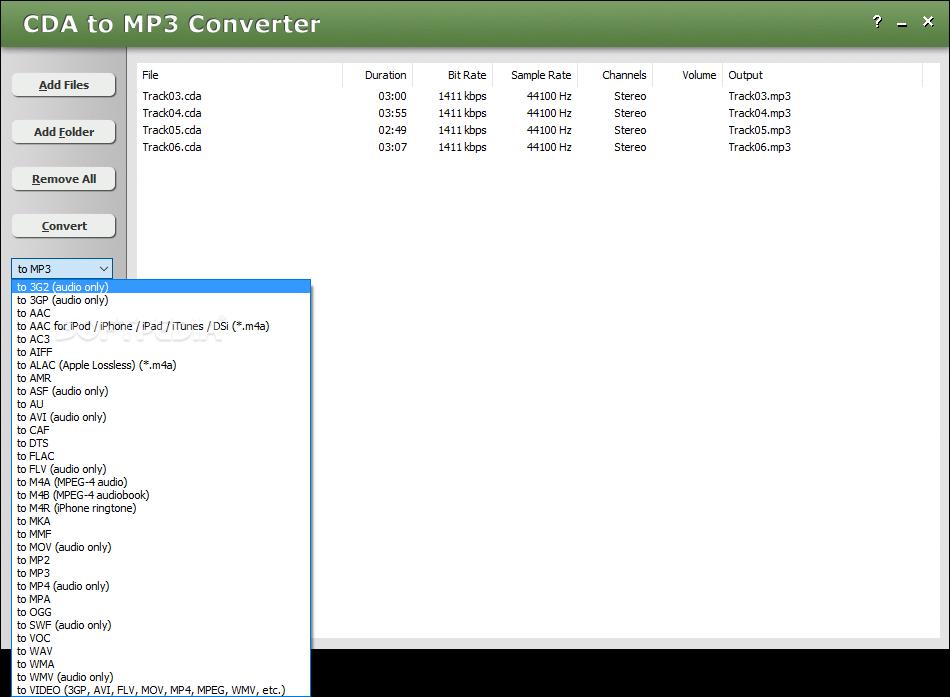 Cda To Mp3 Converter 3 Build 1228
