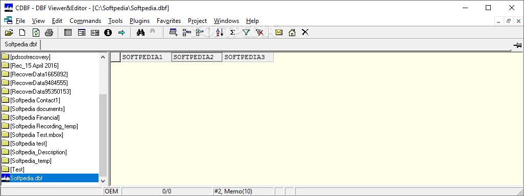 Download CDBF - DBF Viewer&Editor 2 40