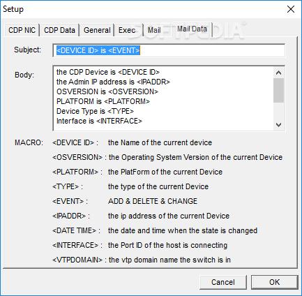 Download Cisco CDP Monitor 3 32
