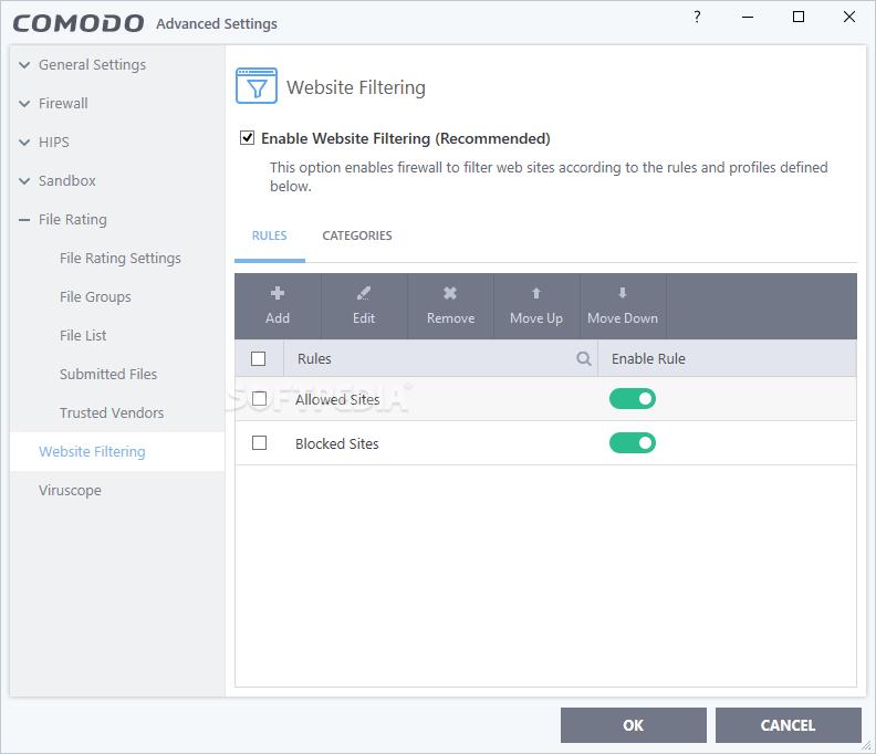 Download Comodo Firewall 12 0 0 6882