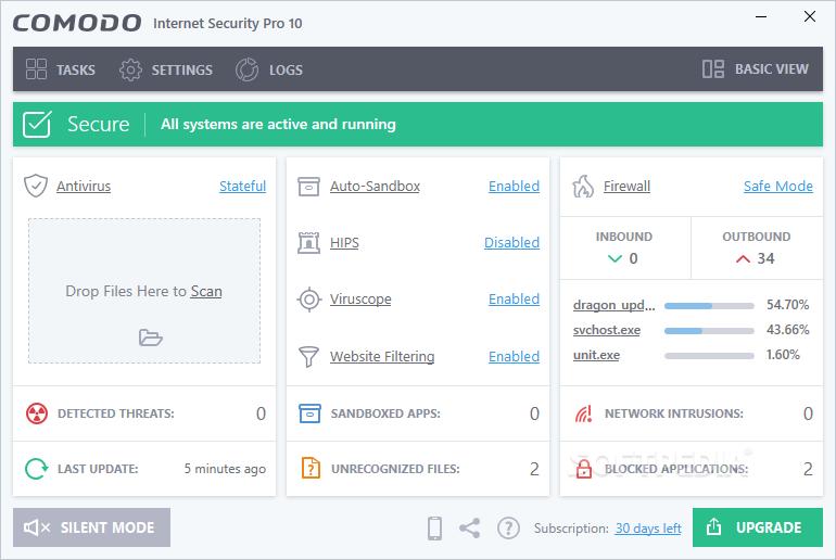 comodo internet security free download windows 7