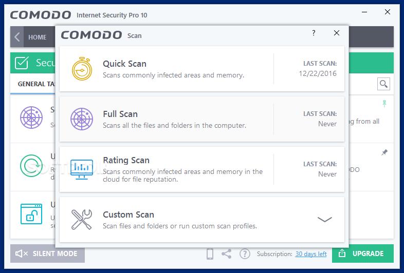 Download COMODO Internet Security 12 0 0 6882