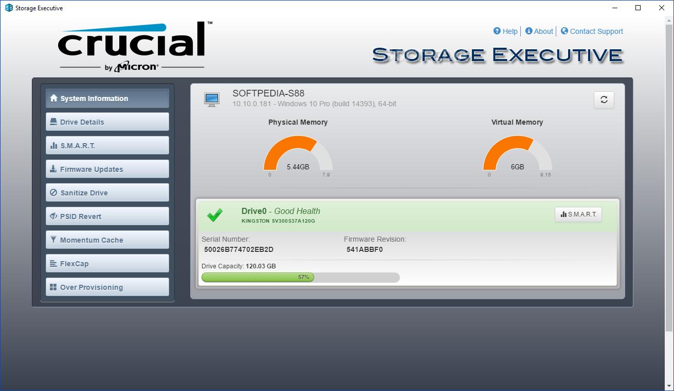 Download Crucial Storage Executive 5 02 052019 08