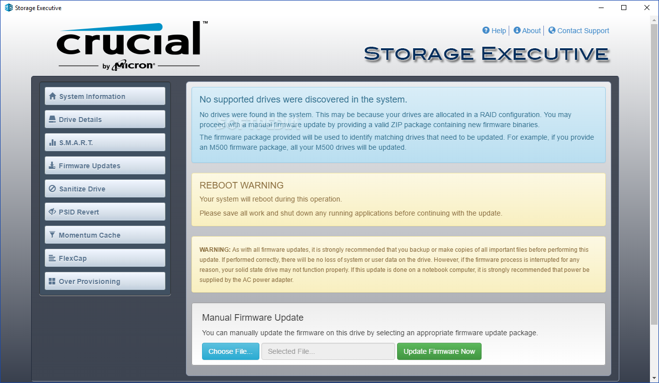 Download Crucial Storage Executive 5 02 052019 08