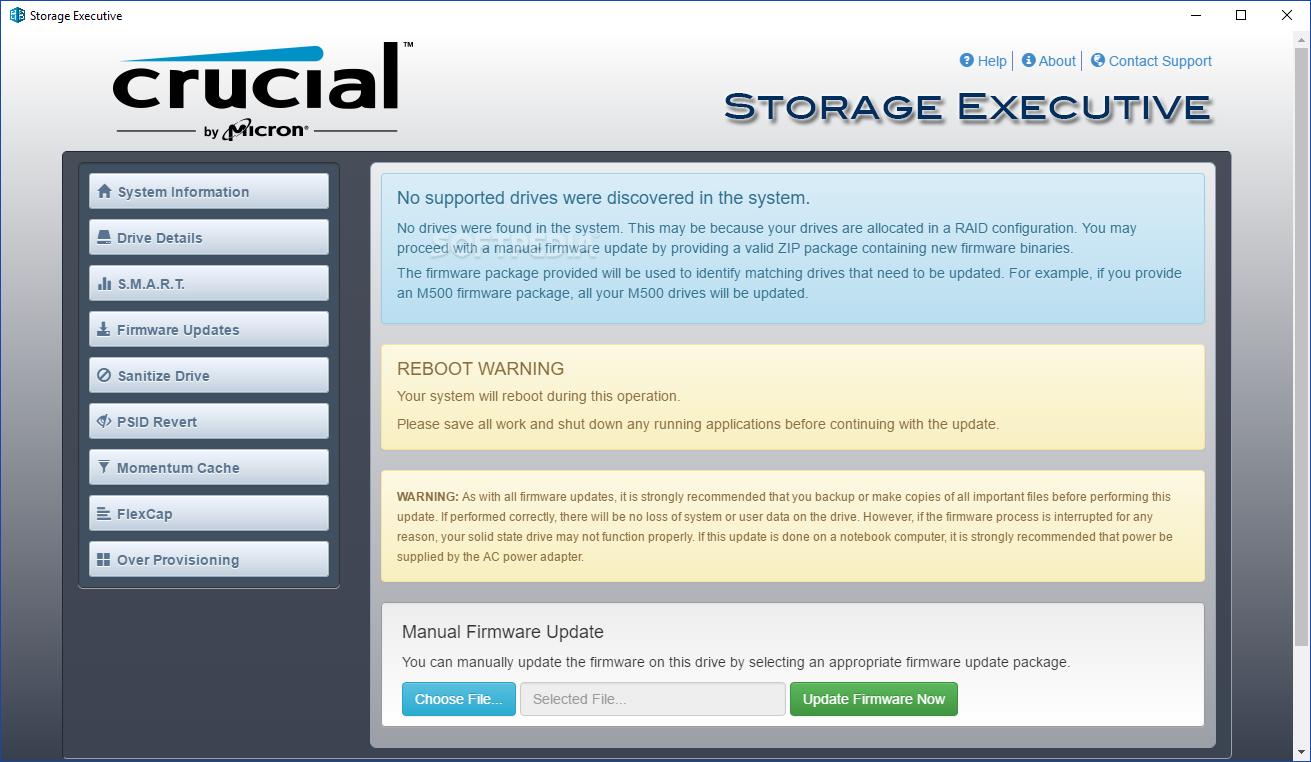 storage executive win 64 zip