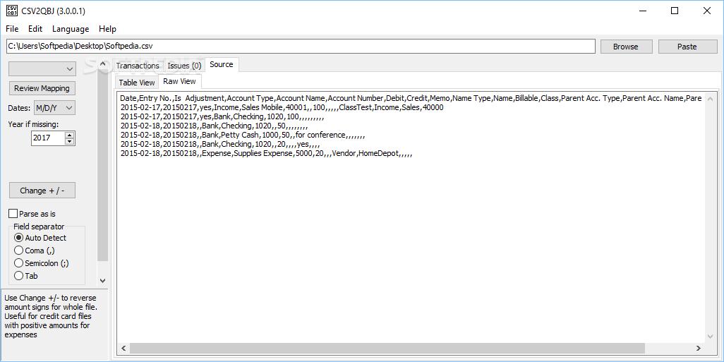 Download CSV2QBJ 3 6 0 0