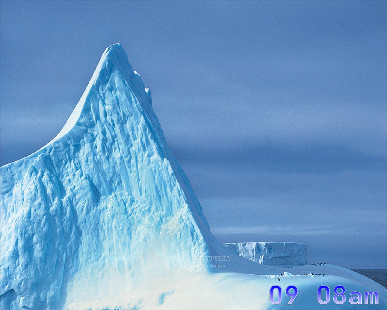 dArt North Pole Screensaver - This is one of the images displayed by