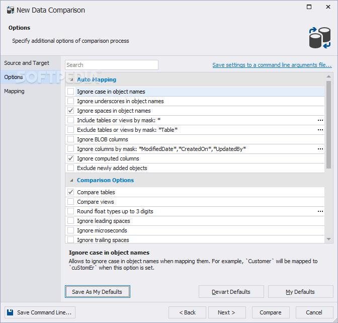 Download dbForge Data Compare for MySQL 5 5 36