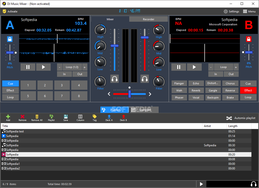 free download dj music mixer for pc