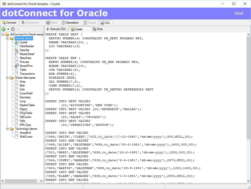 Dotconnect for oracle express edition 6.10