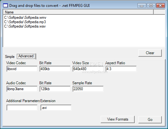 Windows Ffmpeg Gui