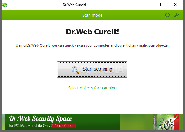 doctor web cureit