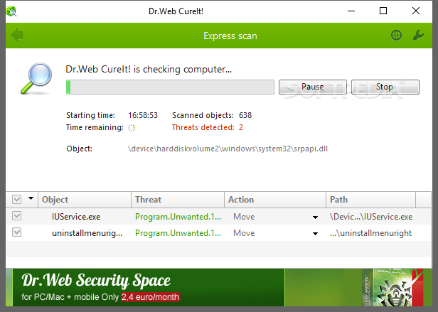antivirus dr.web cureit