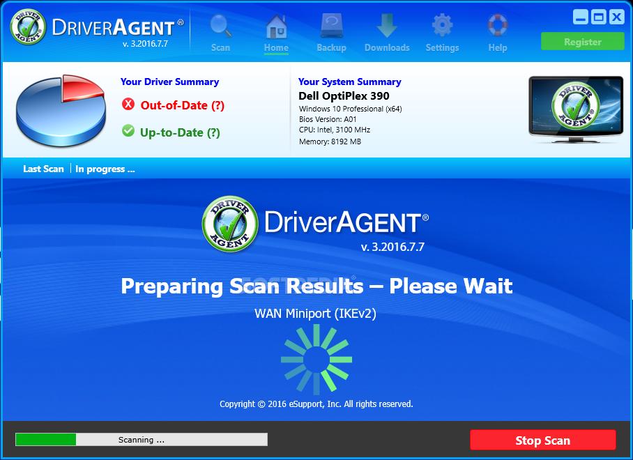 driver agent plus free key