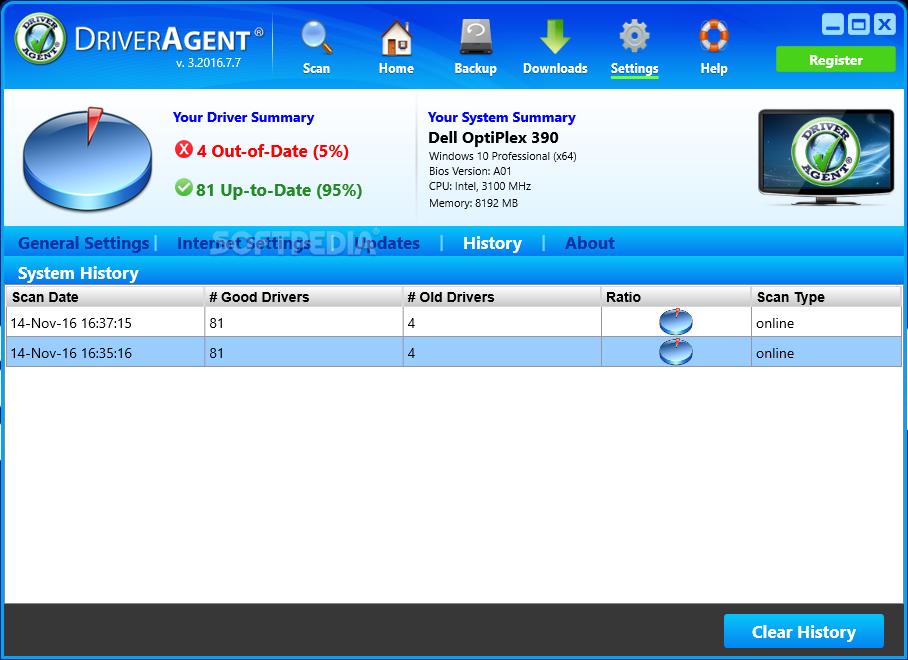 ключ продукта driver agent plus