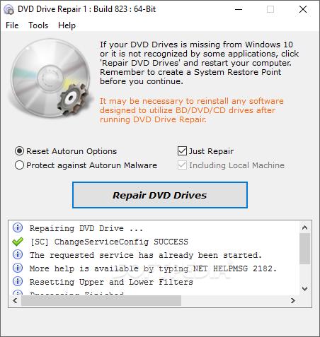 Download DVD Drive Repair 2 0 3 1100