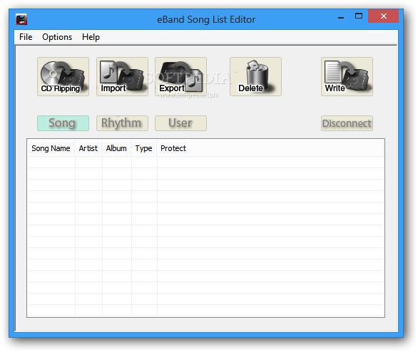 Download eBand Song List Editor 1 01