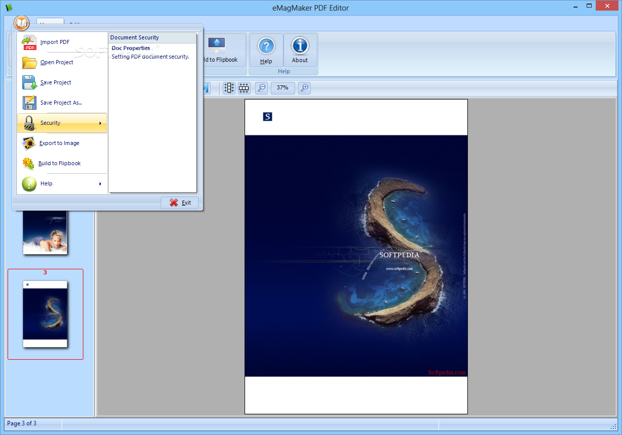 Download eMagMaker PDF Editor 2 1 0 0