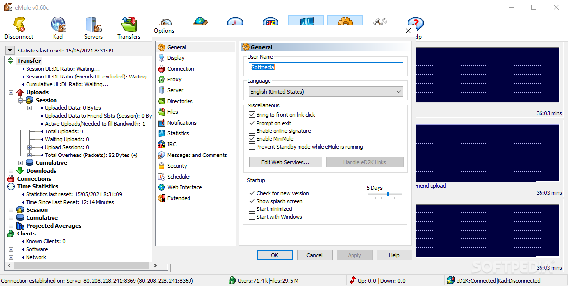 Download eMule 0 50a / 0 50b Beta 1