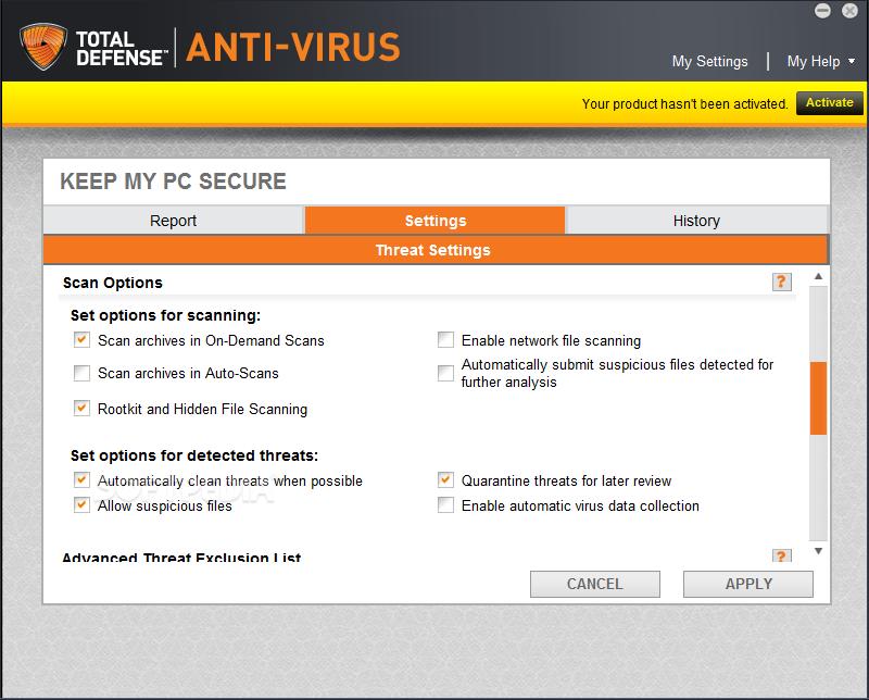 Download Total Defense Anti-Virus 11 5 0 214