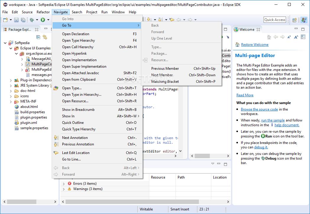 Download Eclipse SDK 4 12 / 4 13 M1