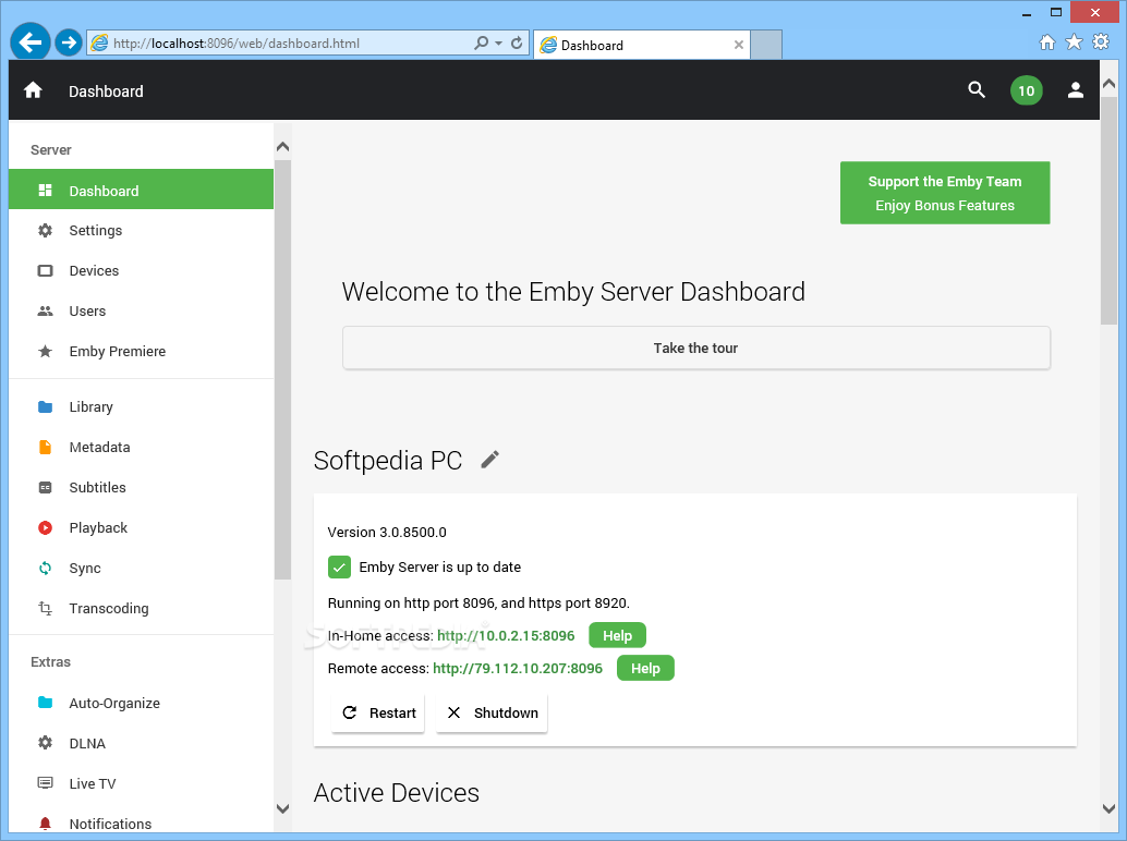 Download Emby Server 3 5 2 0