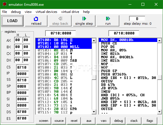 Download emu8086 4 08