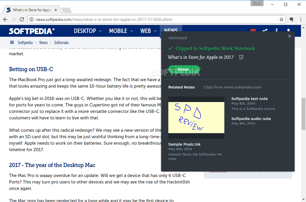 Download Evernote Web Clipper for Chrome 7 12 0