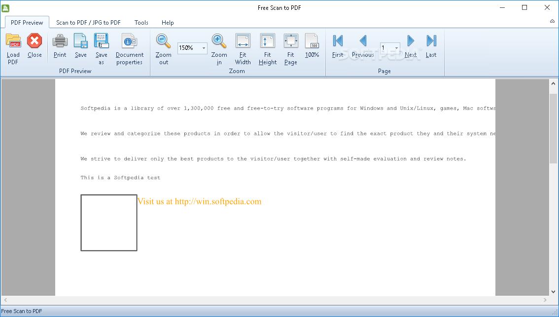 Download Fast Scan to PDF Free 8 8 1