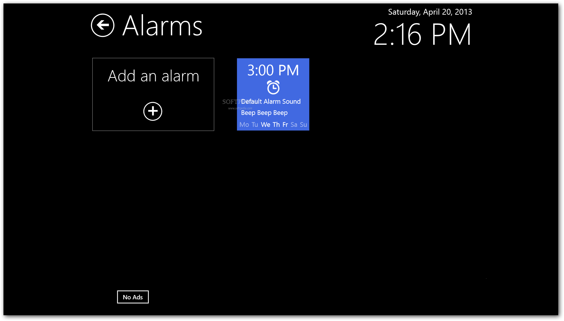 Music alarm clock 3.13 with serial