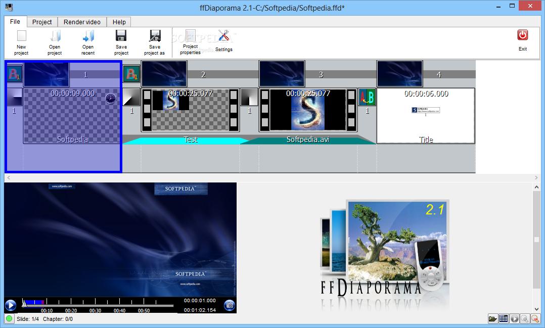 ffdiaporama 2.1