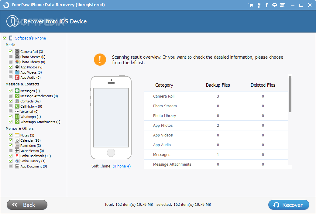 Download FonePaw iPhone Data Recovery 6.1.0