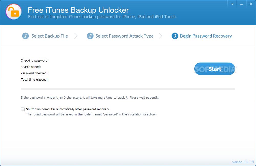 Download Free iTunes Backup Unlocker 5 2 0 0