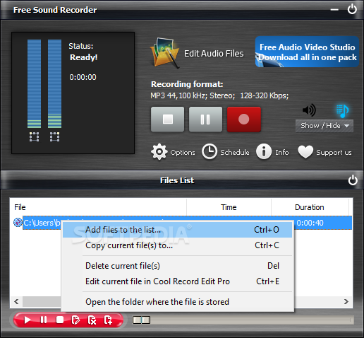 Download Free Sound Recorder 10 8 8