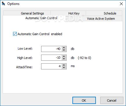 ad sound recorder key