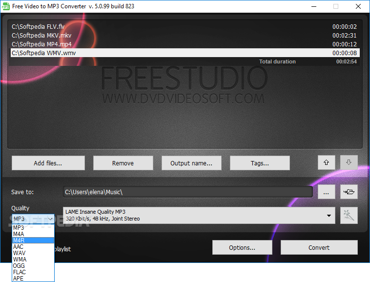 free audio converter v 5.0 99 build 823