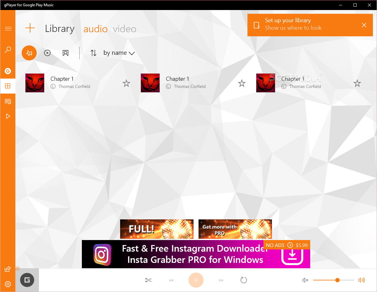 Google play music download library