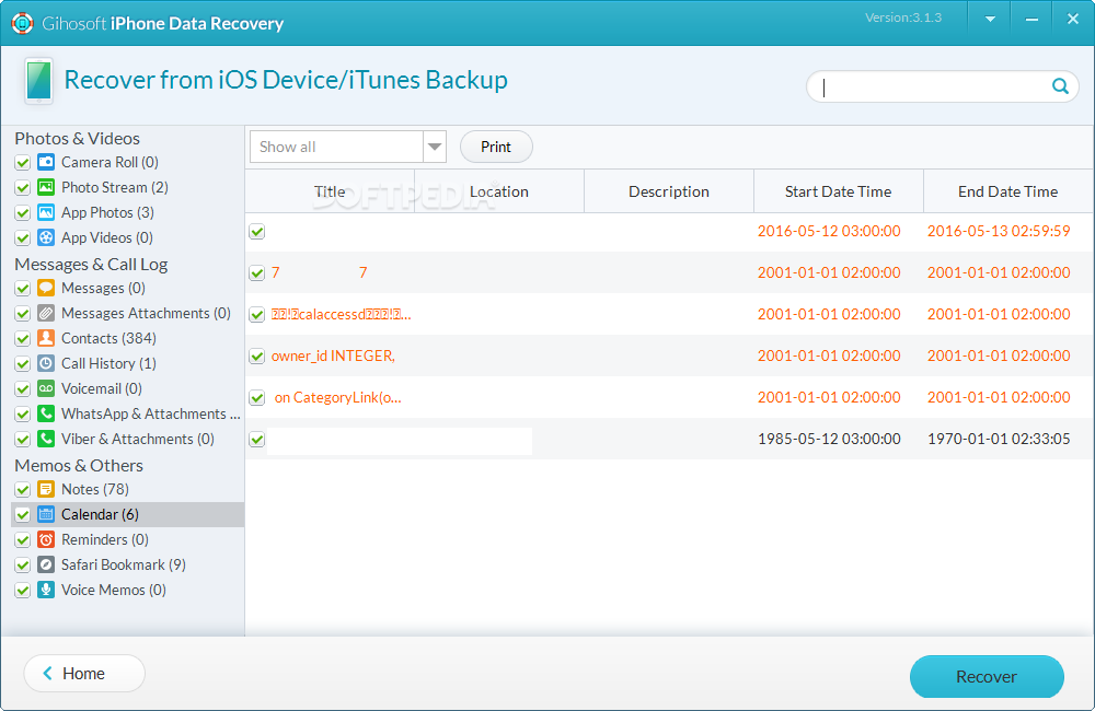 Download Gihosoft iPhone Data Recovery 4.2.8