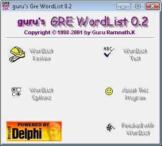 Gre Wordlist Pdf