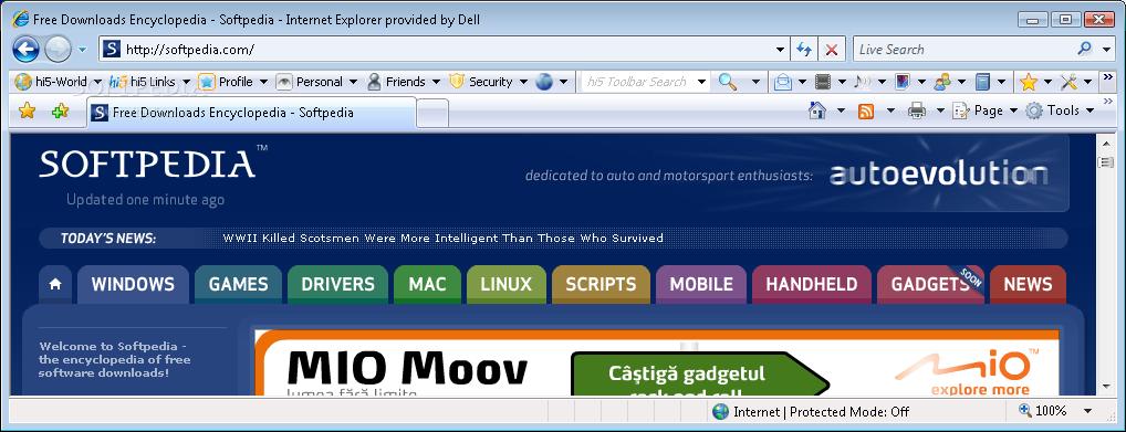 Download hi5 Toolbar 1 0 0