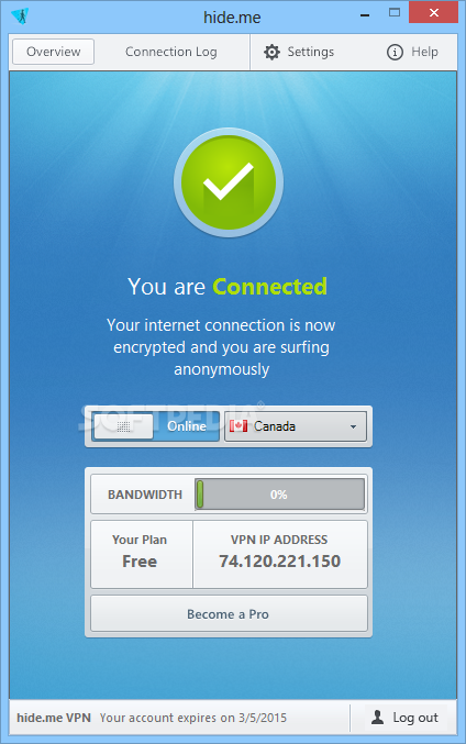 Free VPN software for Windows
