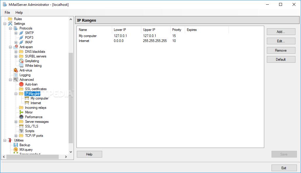 Download hMailServer 5 6 8 Build 2451