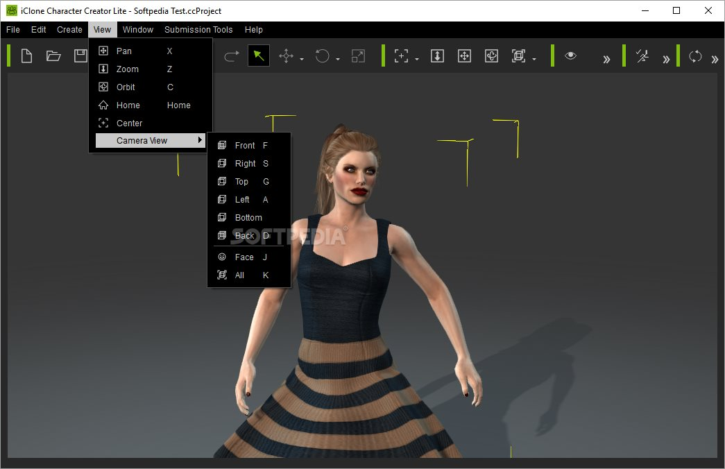 Character Design Software Free Download : Iclone character creator lite download