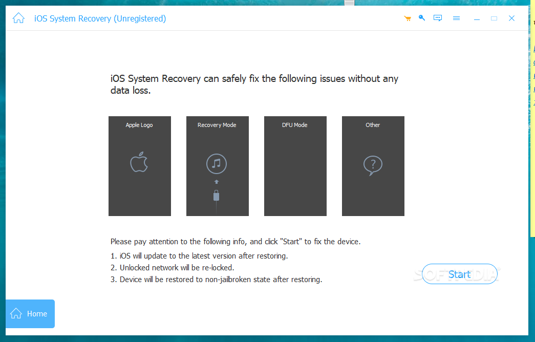 ios system recovery free