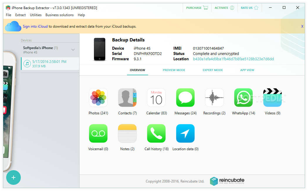 download iphone backup extractor 762 build 793