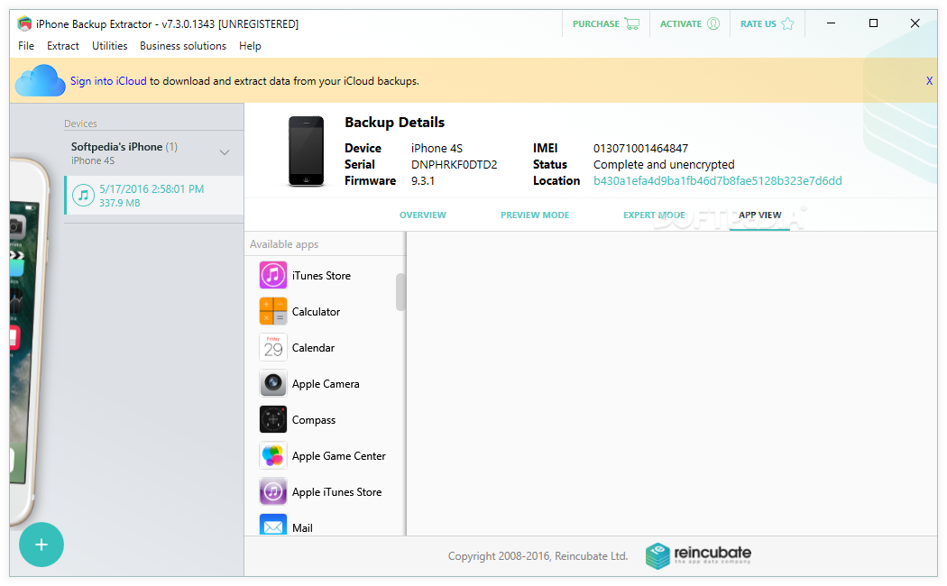 iphone backup extractor 7.6.2 activation key