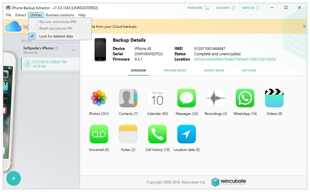 Free Iphone Backup Extractor Windows