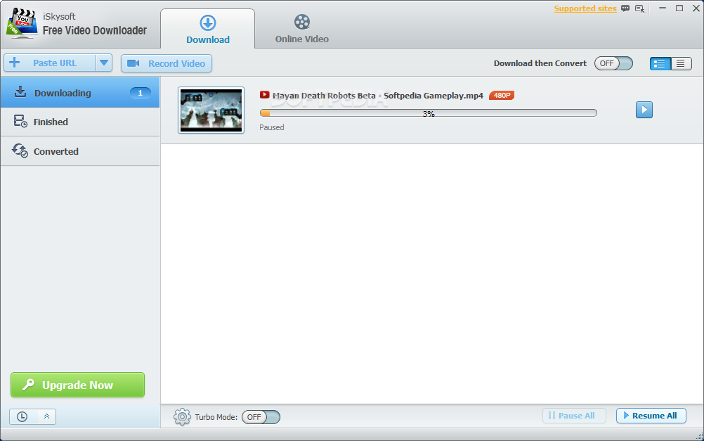 Download iSkysoft Free Video Downloader 1.2.1