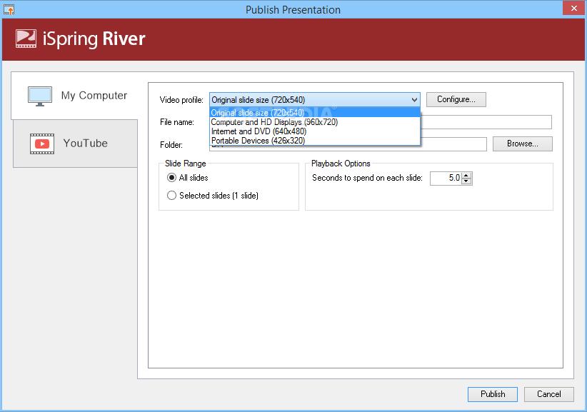 Download iSpring River 8.7.0