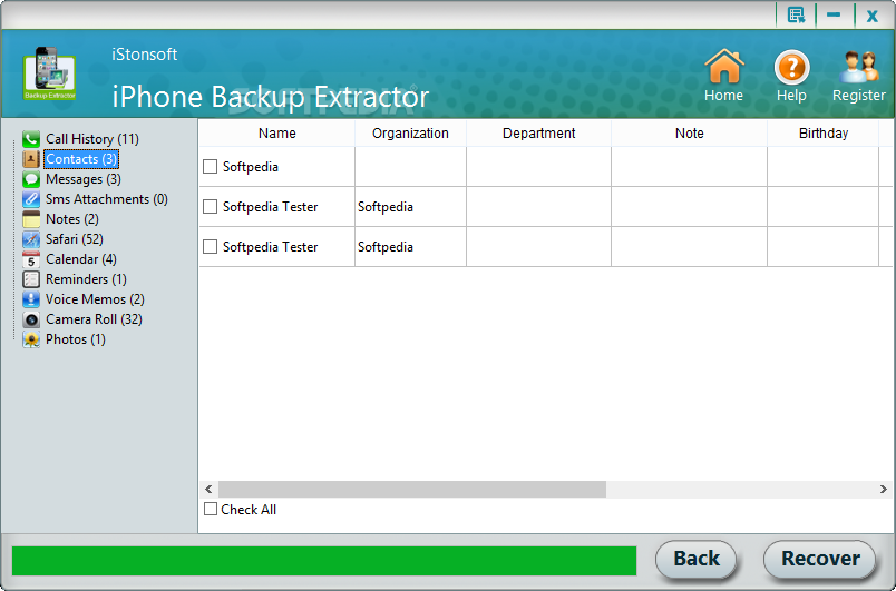 Download iStonsoft iPhone Backup Extractor 2 1 44